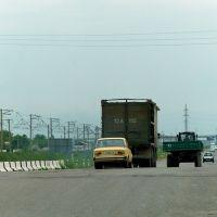 Guliston : route M 34, Пскент