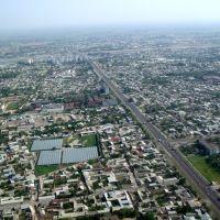 Tashkent vue du ciel, Пскент