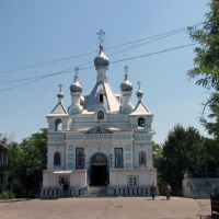 Православная церковь на русском кладбище - Russian Orthodox Church(2006), Пскент