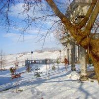 зимний пейзаж, Солдатский