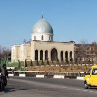 Мечеть и мост через канал., Чирчик