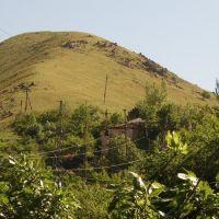 Дома тонут в листве фруктовых деревьев, Янгиабад