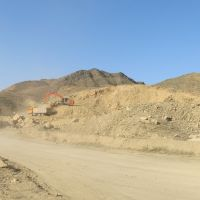 South-Kyrgyz highway, Kadamdzay suburb, construction of bypass road (to Kadamdzay, SW), Вуадиль