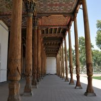 Friday Mosque, or Jama Masjid in Kokand, Uzbekistan., Дангара