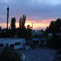 kokand view from hotel kokand, backside, Коканд