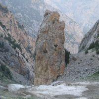 Kulp, Kunteves (Shadow Place). July, remainder avalanche, Кува