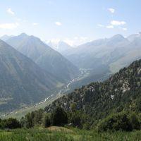 Djindy-Bel Pass, view to Akart, Кува