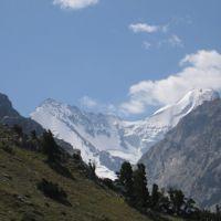 Bursun & Shait peaks (view S), Кувасай