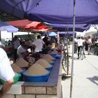 Uzbekistan,Margilan, bazar (angolo del riso), Маргилан