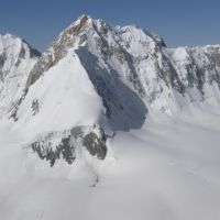 Dugoba, climb to Aktash, summit, Учкуприк