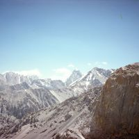 Ak-Tash peak (view from Kalkush pass), Учкуприк