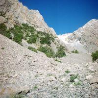 Gadzir, track to 4s pass (to Dugoba), Учкуприк
