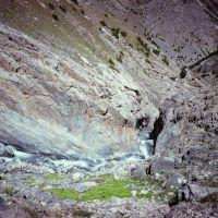 Dugoba, Ak-Tash ravine, canyon, Учкуприк