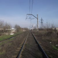 подъездной путь от коксохима, Авдеевка