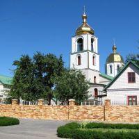 Церковь., Алексеево-Дружковка