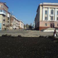 площадь Ленина, Амвросиевка