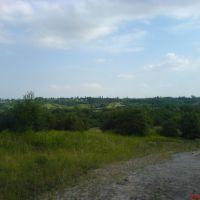 Дорога над карьером, Амвросиевка