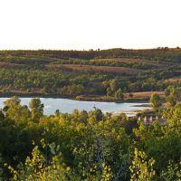 Вид на плотину, Андреевка