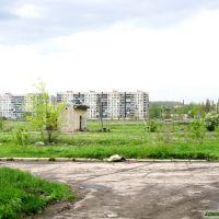 "Вид на поселок ""Кирово"" с ""Соцгородка"", Артемово"