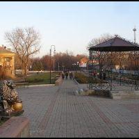 беседка в обновленном парке, Артемовск