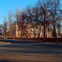 перекресток улиц Горького и Калинина, Артемовск