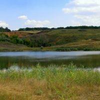 озеро на месте затопленной соляной шахты, Благодатное