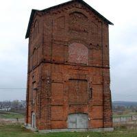 Водонапорная башня, установленная над стволом шахты №2 им. Свердлова, Благодатное