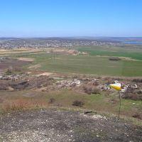 Вид с горы Карачун, Былбасовка