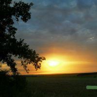 Закат в Былбасовке, Былбасовка