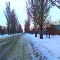 зима на ул. Интернациональной, Великая Новоселка