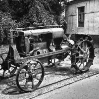 Старый трактор ВТЗ, Волноваха