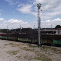 вид на станцию с моста, Волноваха