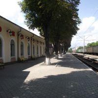 с восточной стороны вокзала, Волноваха