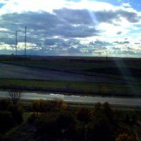 Вид на антенны, Володарское
