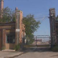 Проходная Никитовского доломитного завода, Гольмовский
