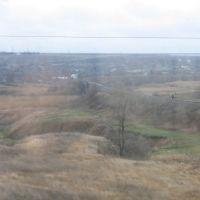 Жд. линия на Старобешевскую ТЭС.( поселок Новый Свет) 2007 г, Горбачево-Михайловка