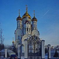 Ворота Свято-Николаевского собора, Горловка