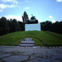 Tank monument, Горловка