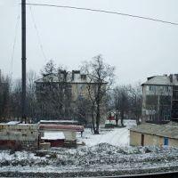 Панорама ул.Ленина со стороны ЖД, Дебальцево