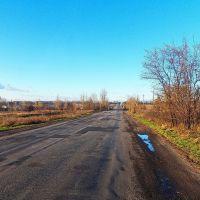 На кольцо  луганской трассы, Дебальцево