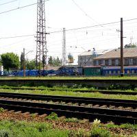 Восстановительный поезд., Дебальцево