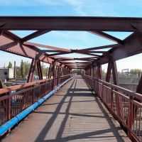 По мосту на 1-ю площадку, Дебальцево