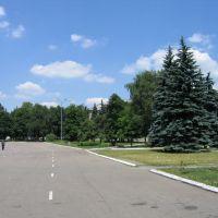 Центральная площадь, Дебальцево