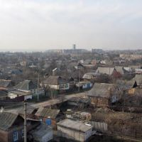 Вид в сторону центра города, Дзержинск