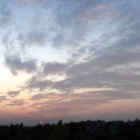 закат над микрорайоном, Дзержинск
