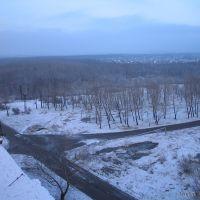 Вид с крыши дома №11 ул. 50лет ВЛКСМ, Дзержинск