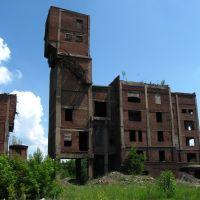 Руины шахты им Артема, Дзержинск