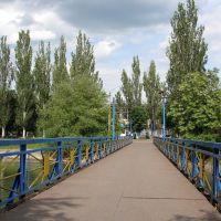 мост через городской пруд, Димитров