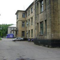 Фасад больницы Димитрова, Димитров