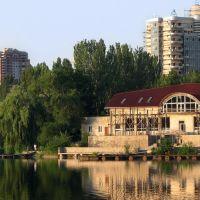 Лодочная станция на втором городском пруду, Донецк